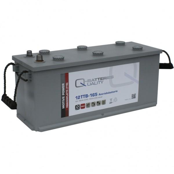 Batería Qbatteries Tubular Plate Battery 12TTB-165. 12V - 165Ah (510x175x225mm)