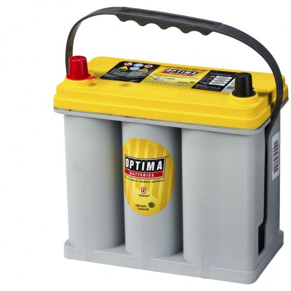Batería Optima Yellowtop YTS-2.7. 12V - 38Ah/460A (EN) Caja B24 (237x129x201mm)