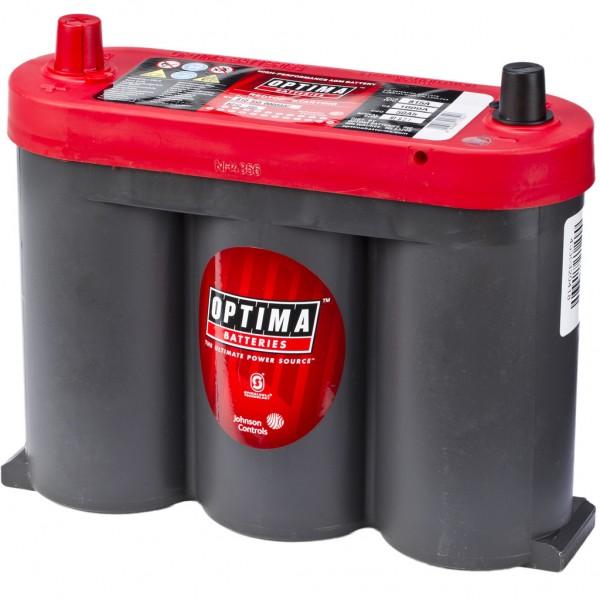 Batería Optima Redtop RTS-2.1. 6V - 50Ah/815A (EN) (252x90x185mm)