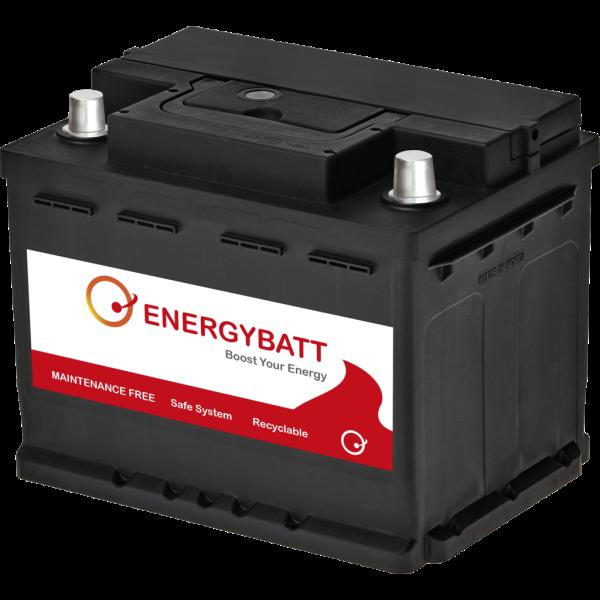 Batería Energybatt EBL265540D. 12V - 65Ah/540A (EN) Caja L2 (242x174x191mm)