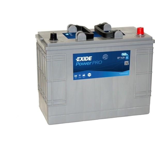 Batería Exide Power Pro EF1420. 12V - 142Ah/850A (EN) Caja WOR (349x175x290mm)