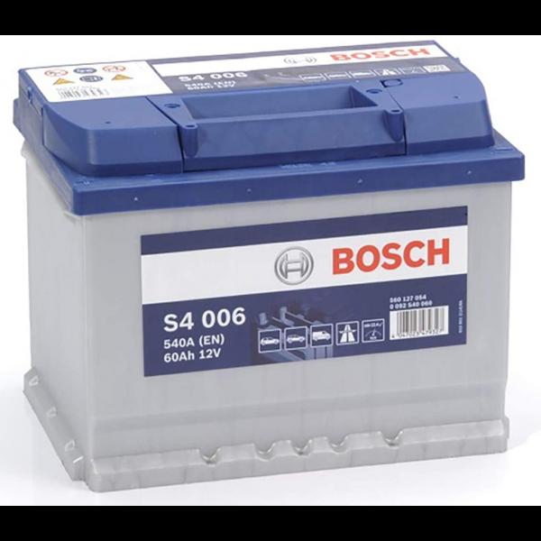 Batería Bosch S4 S4006. 12V - 60Ah/540A (EN) Caja L2 (242x175x190mm)