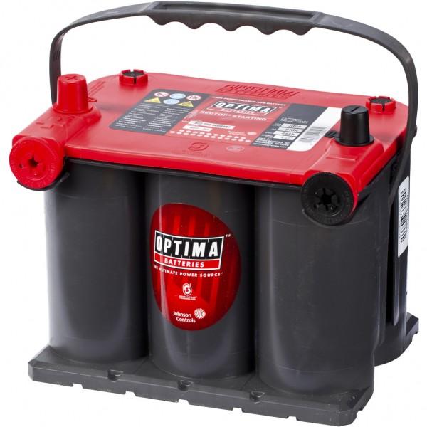 Batería Optima Redtop RTU-3.7. 12V - 44Ah/730A (EN) (237x172x168mm)