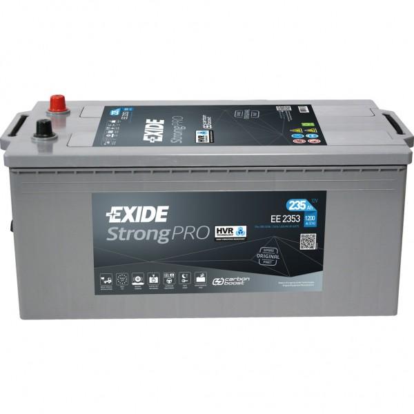 Batería Exide Strong Pro EE2353. 12V - 235Ah/1200A (EN) (518x279x240mm)