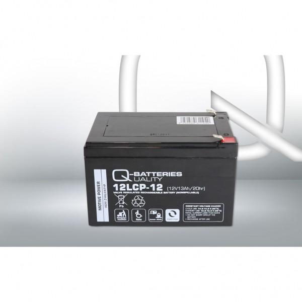 Batería Qbatteries Agm Deep Cycle Battery 12LCP-12. Tecnología AGM. 12V - 13Ah (151x98x95mm)