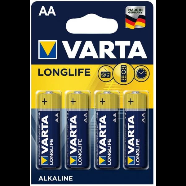 Pila Varta Aa - 4 Ud 1,5V