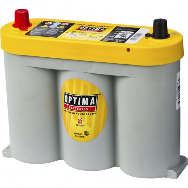 Batería Optima Yellowtop YTS-2.1. 6V - 55Ah/765A (EN) (252x90x185mm)