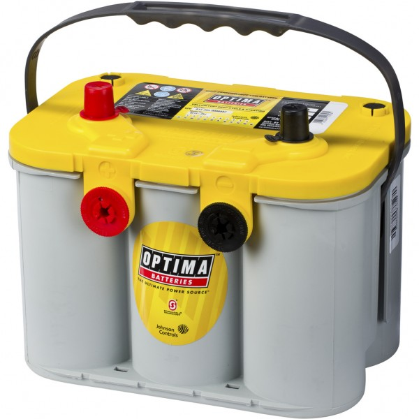 Batería Optima Yellowtop YTU-4.2. 12V - 55Ah/765A (EN) (254x172x173mm)