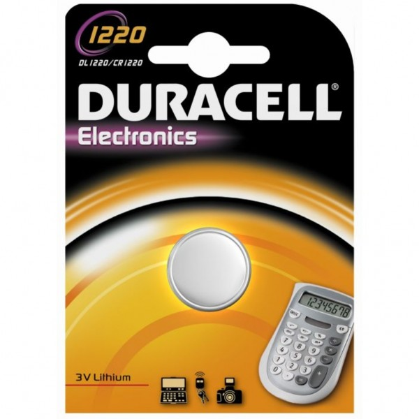 Pila Duracell Cr1220 - 1 Ud 3V