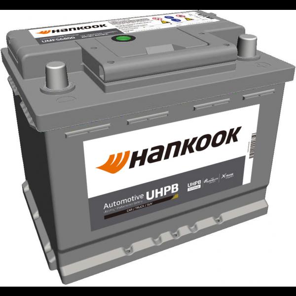Batería Hankook UMF56800. 12V - 68Ah/610A (EN) Caja L2 (242x174x190mm)