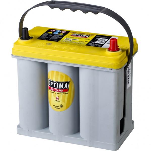 Batería Optima Yellowtop YTR-2.7J. 12V - 38Ah/460A (EN) Caja B24 (237x129x201mm)