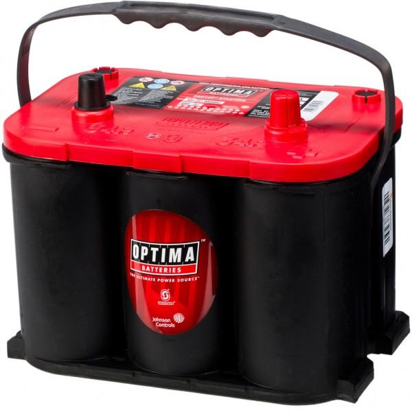 Batería Optima Redtop RTR-4.2. 12V - 50Ah/815A (EN) (254x172x173mm)