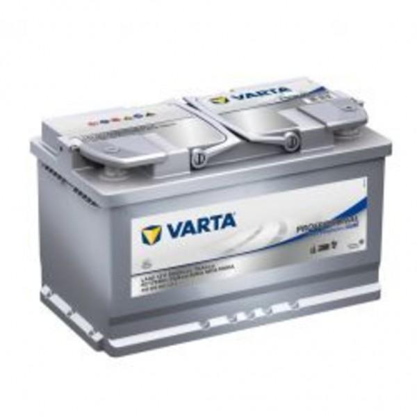 Batería Varta Dual Purpose Agm LA80. Tecnología AGM. 12V - 80Ah/800A (EN) Caja L5 (353x175x190mm)