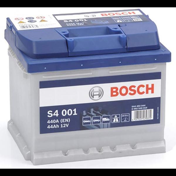 Batería Bosch S4 S4001. 12V - 44Ah/440A (EN) Caja LB1 (207x175x175mm)