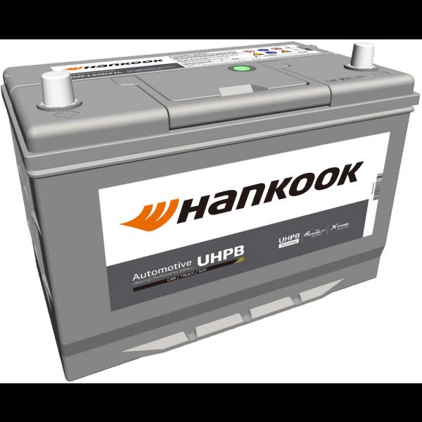 Batería Hankook UMF135D31L. 12V - 100Ah/800A (EN) Caja M27 (302x175x220mm)