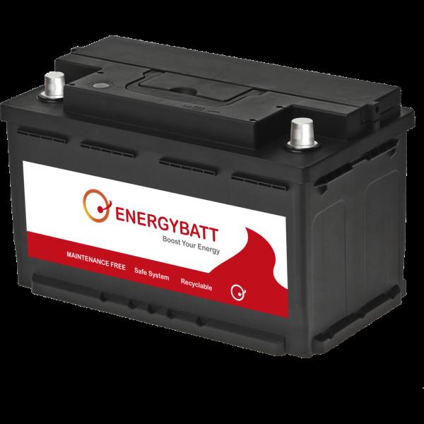 Batería Energybatt EBL480700D. 12V - 80Ah/700A (EN) Caja L4 (315x175x190mm)
