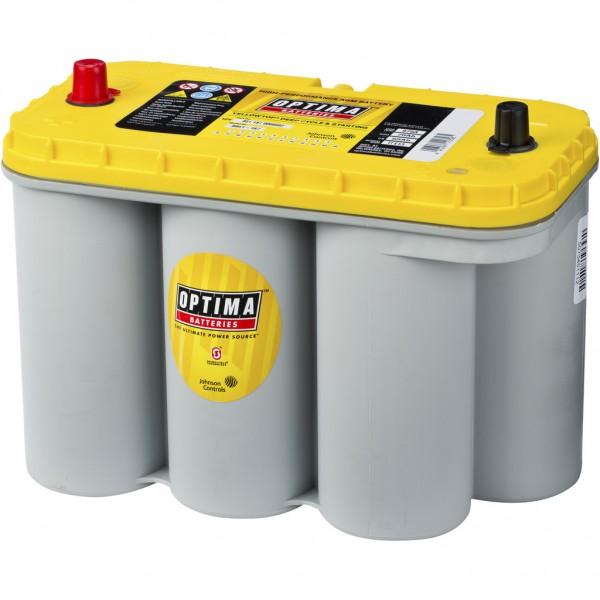 Batería Optima Yellowtop YTS-5.5. 12V - 75Ah/975A (EN) (325x158x218mm)