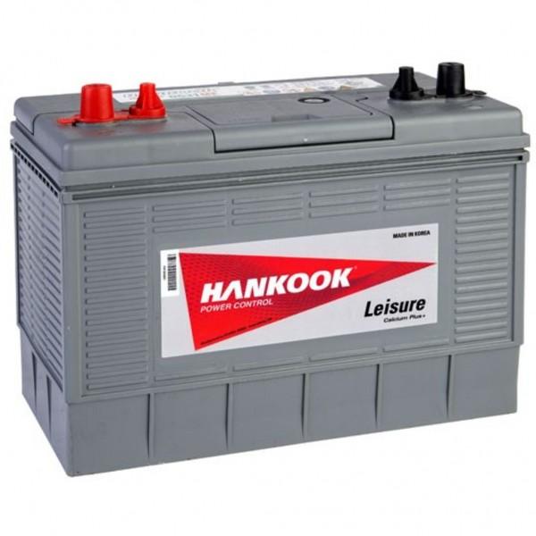 Batería Hankook Dual DC31MF. 12V - 100Ah Caja M31 (330x172x218mm)