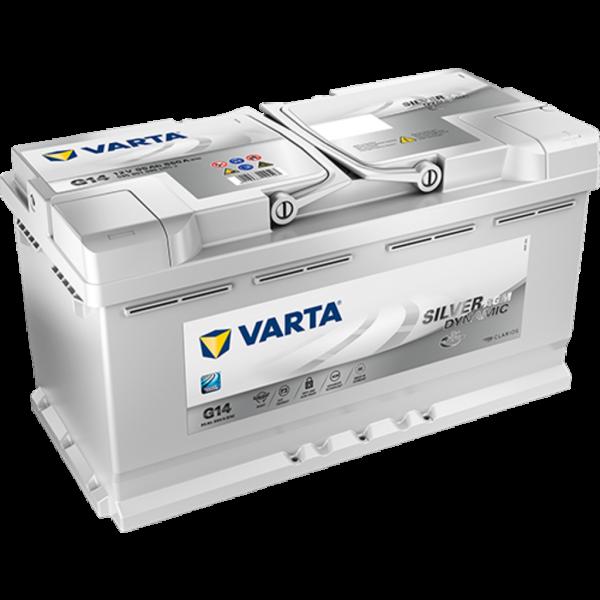 Batería Varta Silver Dynamic Agm G14. 12V - 95Ah/850A (EN) Caja L5 (353x175x190mm)