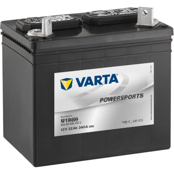 Batería Varta U1R. 12V - 22Ah/340A (EN)