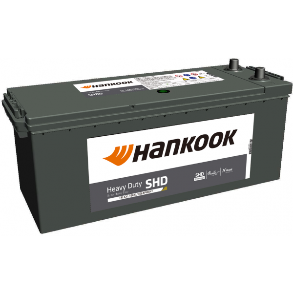 Batería Hankook SHD64589. 12V - 145Ah/800A (EN) (511x188x195mm)